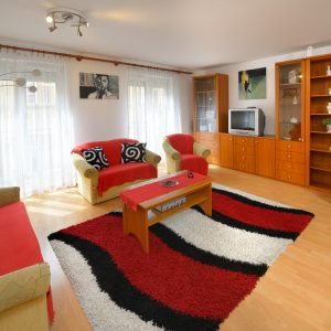 One bedroom Deluxe apartment Red